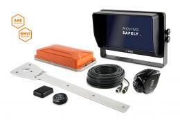"""LUIS TURN DETECT® BMVI 10""""-Monitor Quad mit Kamera-Halter"""