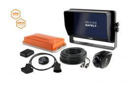 """LUIS TURN DETECT® BMVI 10""""-Monitor Quad Lenkwinkel"""