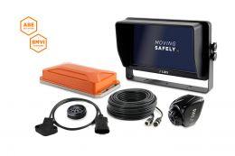 "LUIS TURN DETECT® BMVI 10""-Monitor Quad Lenkwinkel ohne GPS"