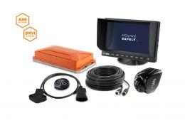 """LUIS TURN DETECT® BMVI 7""""-Monitor Lenkwinkel ohne GPS"""