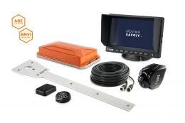 """LUIS TURN DETECT® BMVI 7""""-Monitor mit Kamera-Halter"""