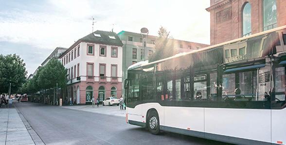 Personennahverkehr und Fernverkehr